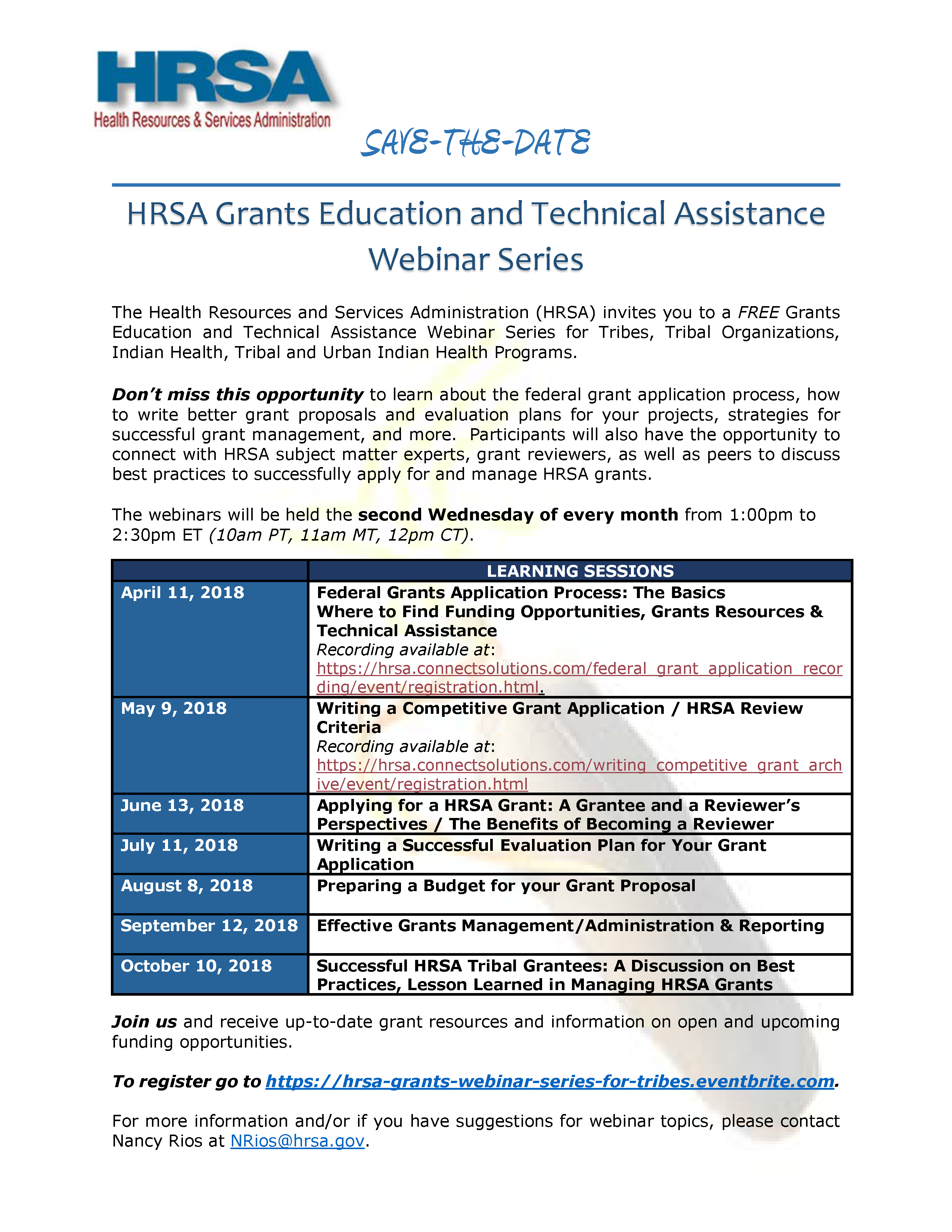 Grant Proposal | Hrsa Webinar Series Preparing A Budget For Your Grant Proposal Spthb