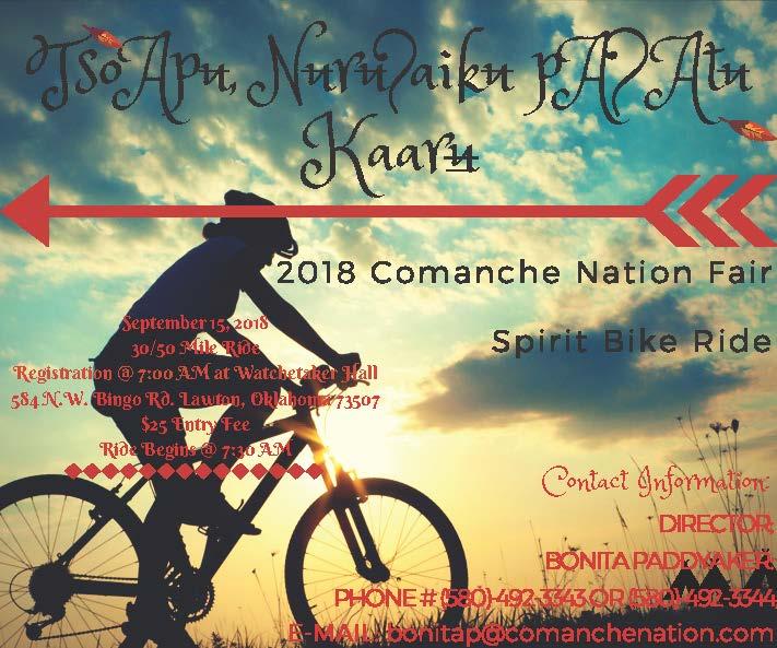 2018 Comanche Nation Fair Spirit Bike Ride – SPTHB